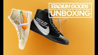 "STYLE: Unboxing: Off White Nike Blazer ""All Hollow's Eve"" + ""Grim Reaper"""