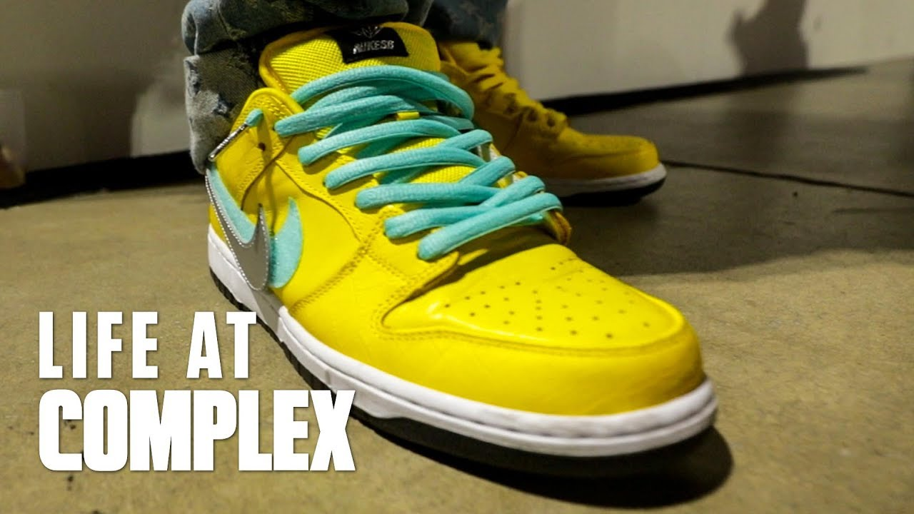 STYLE: MOST HYPED SHOE OF COMPLEXCON 2018 DAY 1   #LIFEFATCOMPLEX