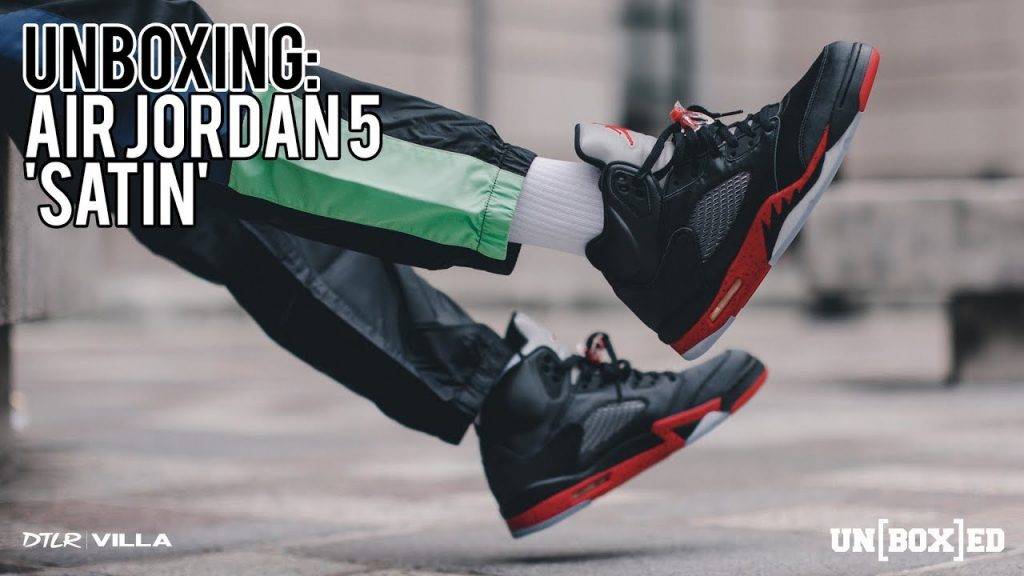 "STYLE: UNBOXED: AIR JORDAN 5 ""SATIN"" EP 38"
