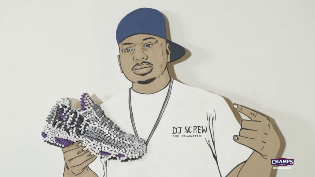 "STYLE: DJ Screw Nike Air Max 95 ""Houston"" Art Piece by DonkeeBoy! 