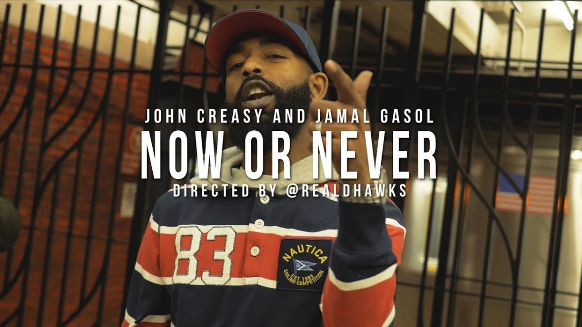 """MUSIC: John Creasy and Jamal Gasol """"Now or Never"""" (Official Music Video)"""
