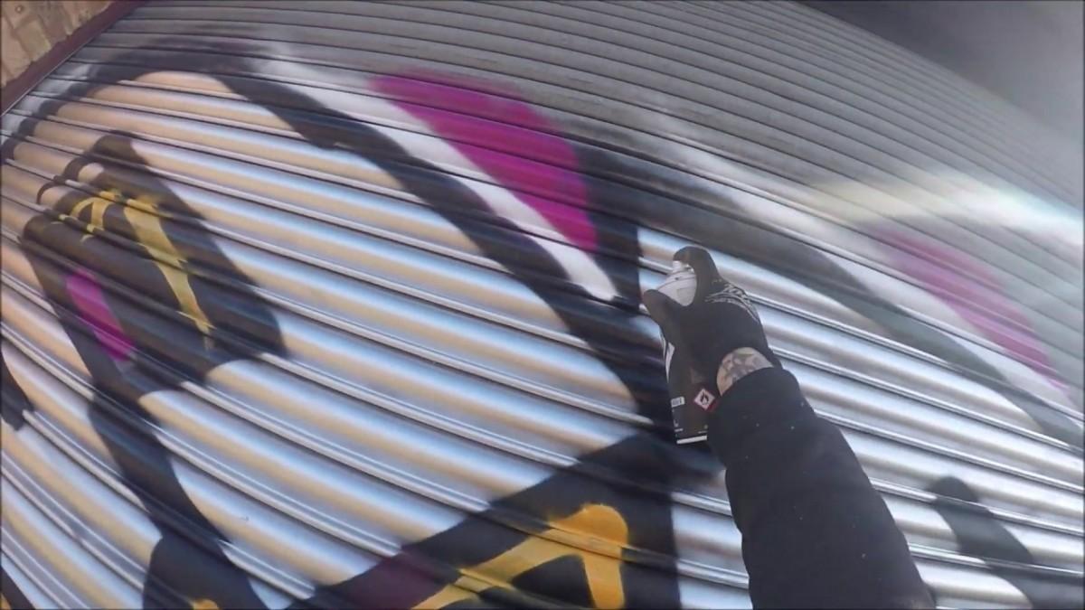 ART: Graffiti – Ghost EA – Blocks & Shutters