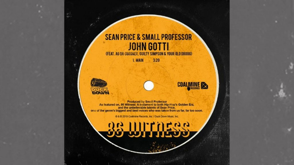 "MUSIC: Sean Price & Small Professor ""John Gotti"" ft. AG Da Coroner, Guilty Simpson & Your Old Droog"