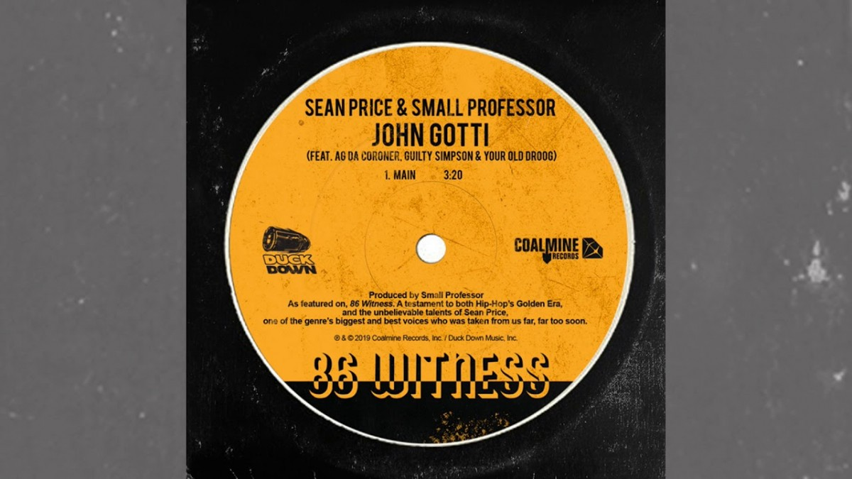 "MUSIC: Sean Price & Small Professor ""John Gotti"" ft. AG Da Coroner, Guilty Simpson & Your Old Droog"