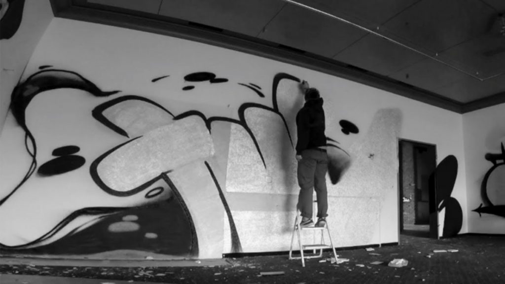 ART: DESAN21 Graffiti Bombing
