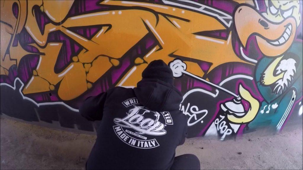 ART: Graffiti - Ghost EA - Controlling Time