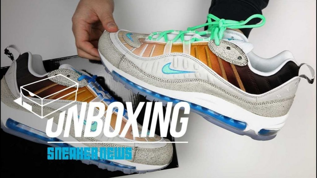 STYLE: Nike Air Max 98 On Air La Mezcla Unboxing