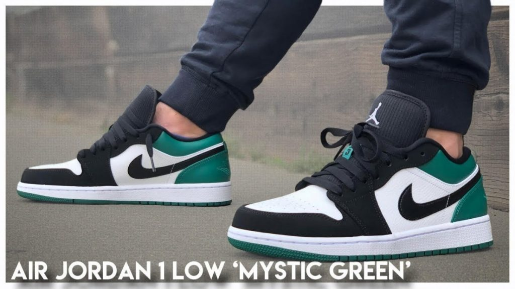 STYLE: Air Jordan 1 Low 'Mystic Green'