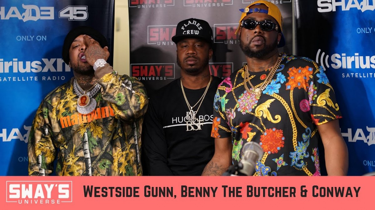 LIFE: Griselda Records Takeover: Westside Gunn, Conway & Benny the Butcher Freestyle & Interview
