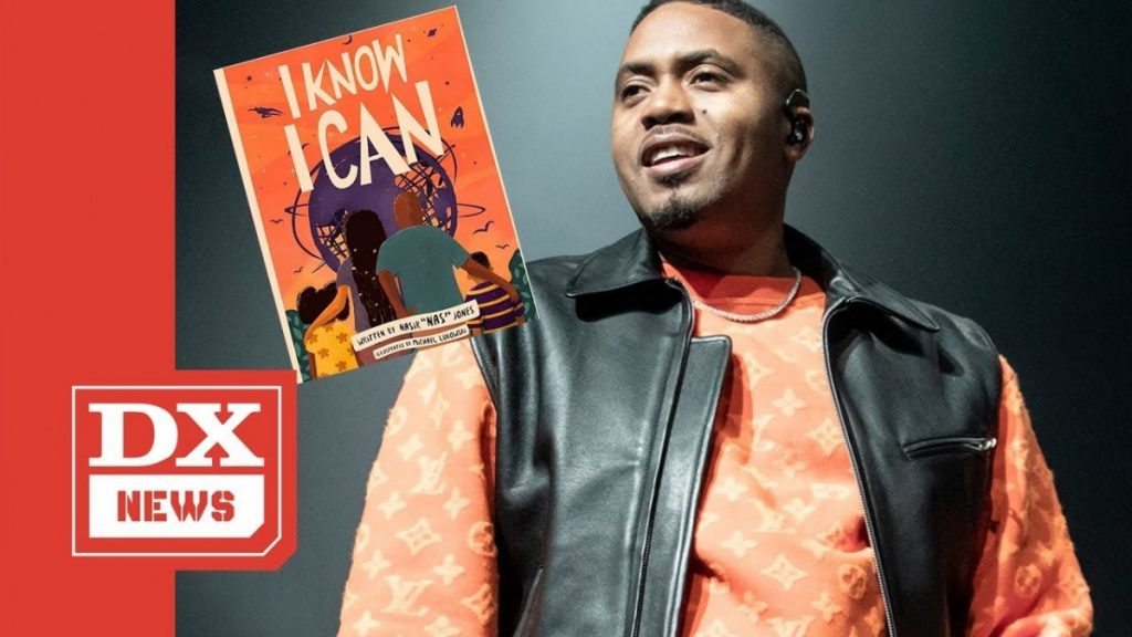 "LIFE: Nas Is Dropping A Children's Book Called ""I Know I Can"""