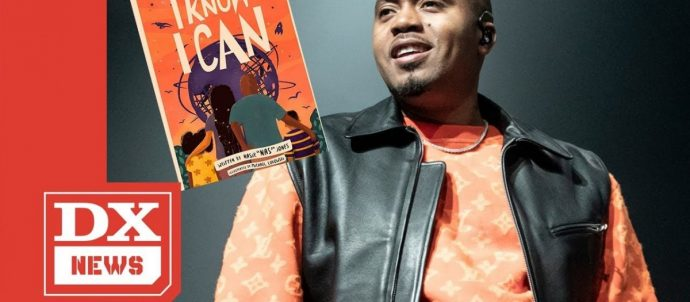 """LIFE: Nas Is Dropping A Children's Book Called """"I Know I Can"""""""