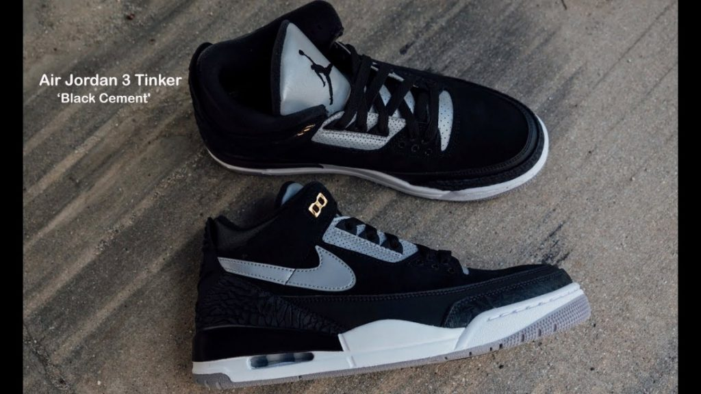 STYLE: FIRST LOOK: Air Jordan 3 Tinker 'Black Cement'  |SHIEKH
