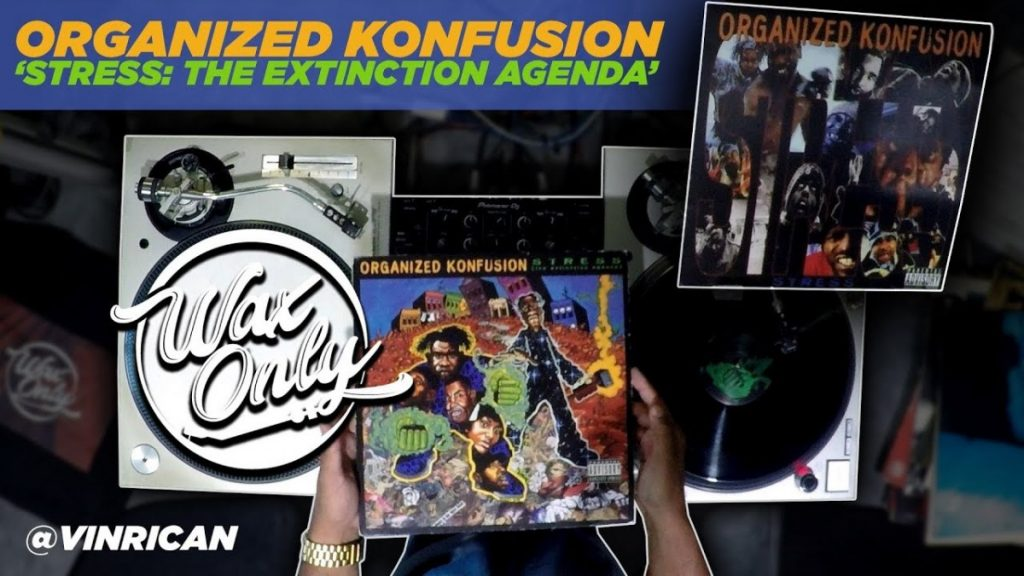 LIFE: Discover Samples Used On Organized Konfusion 'Stress: The Extinction Agenda'