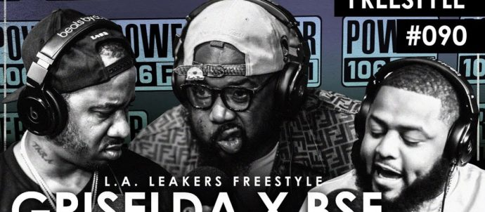 LIFE: Griselda & BSF Freestyle w/ The  L.A. Leakers - Freestyle #090