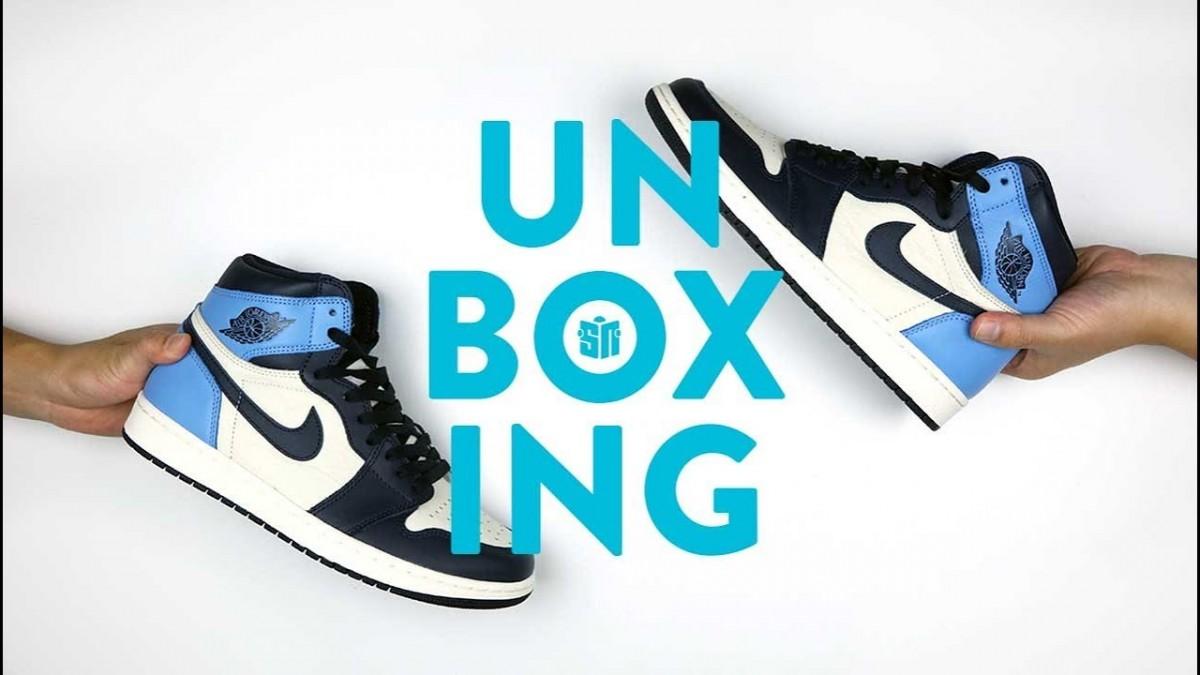 STYLE: Jordan 1 UNC Unboxing