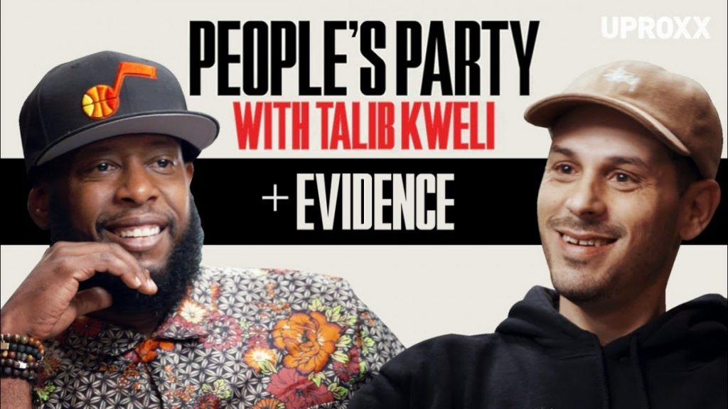 "LIFE: Talib Kweli And Evidence Talk Dilated Peoples, Producing For Kanye & Eminem ""Beef"" I People's Party"