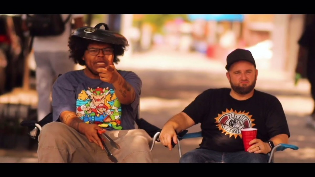 MUSIC: The Good People – Sidewalk Barbecue (feat. A-F-R-O & Termanology) [Official Music Video]