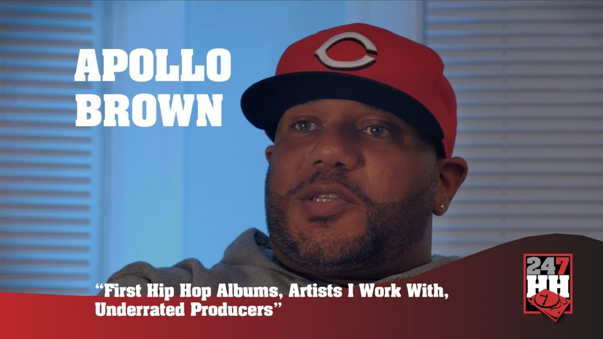 LIFE: Apollo Brown – First Hip Hop Albums, Artists I Work With, & Underrated Producers (247HH EXCL)