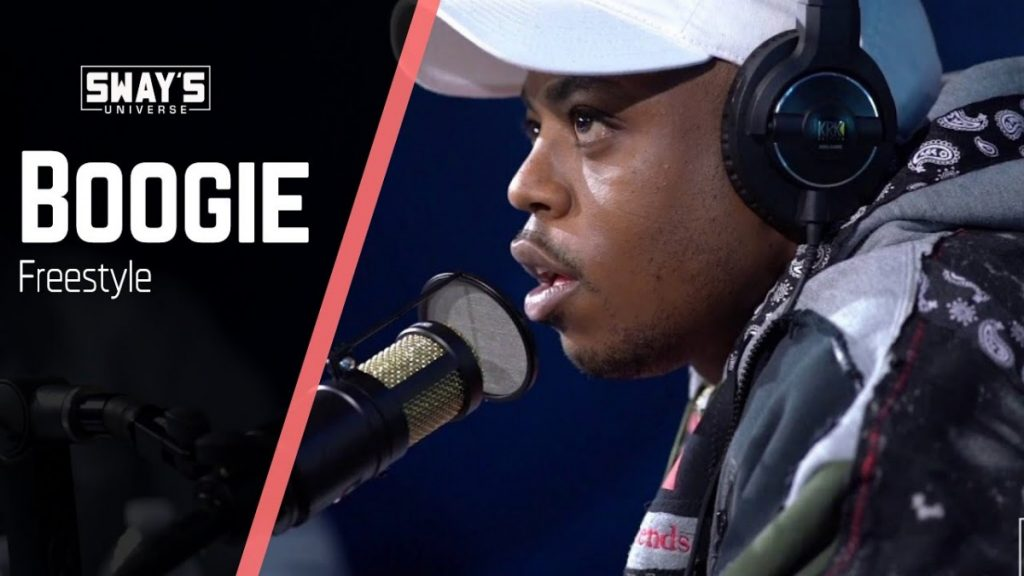 BARS: Boogie Freestyles on Sway In The Morning | SWAY'S UNIVERSE