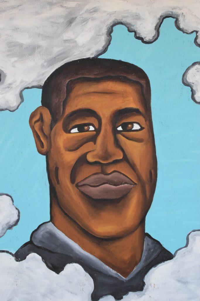 Oakland Fruitvale District BLM Protest Art