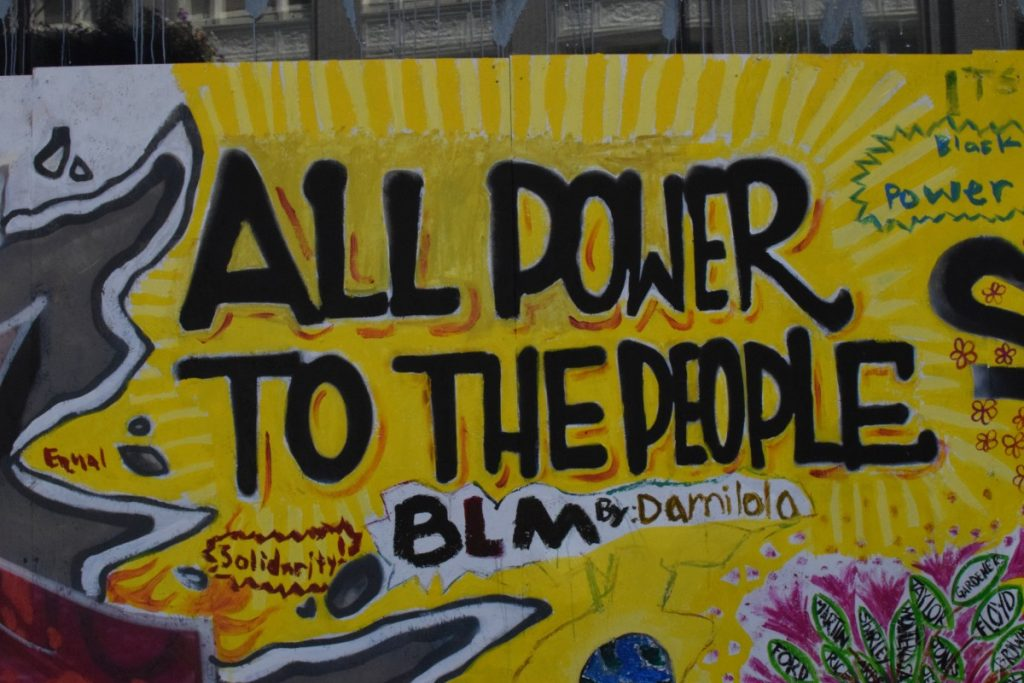 Oakland George Floyd & BLM Protest Art