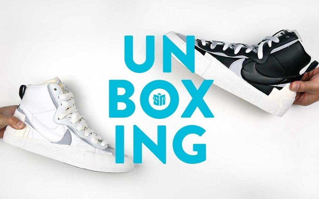 STYLE: sacai Nike Blazer Unboxing