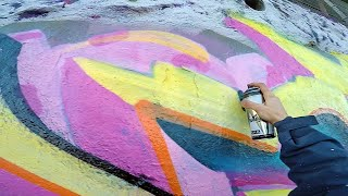 ART: Graffiti – Rake43 – Big Beveled Letters