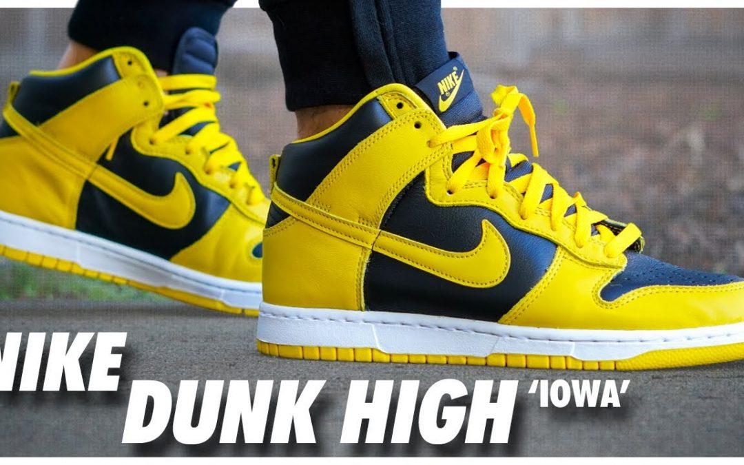 STYLE: Nike Dunk High Iowa 2020