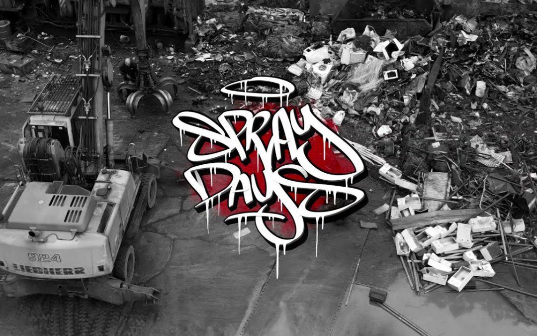 ART: Graffiti – Ghost EA – Junk Yard Takeover 2