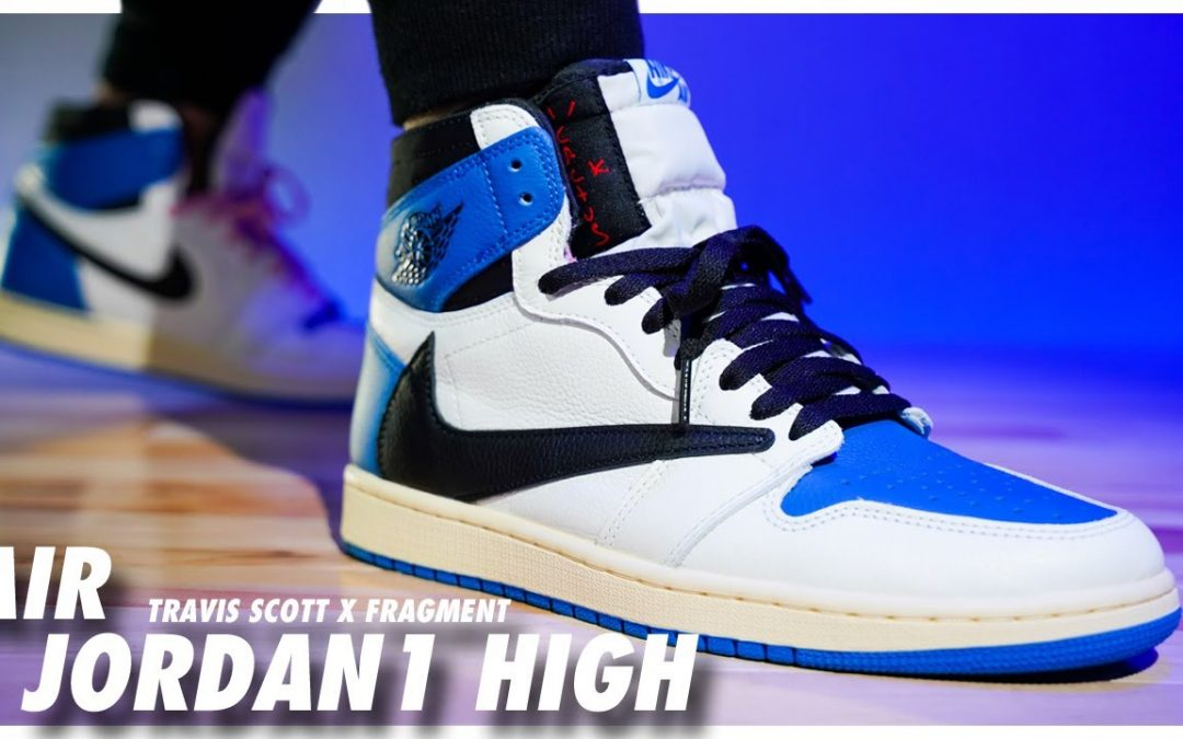 STYLE: Air Jordan 1 High Travis Scott X Fragment