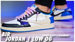 STYLE: Air Jordan 1 Low Travis Scott X Fragment